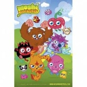 Moshi Monsters Group Maxi Poster