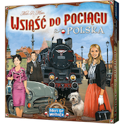 Ticket To Ride Poland Expansion (Polish/ English Rules Included)
