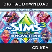 The Sims 3 Plus Showtime (Double Pack) PC CD Key Download for Origin