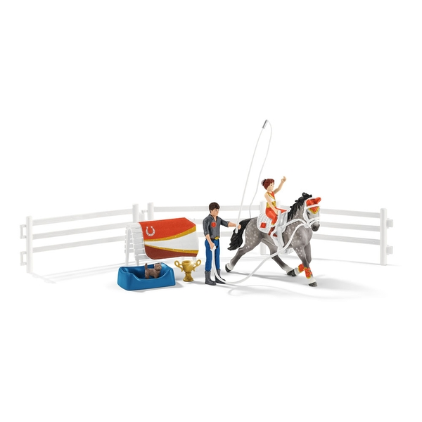 Schleich - Horse Club Mia's Vaulting Riding Set
