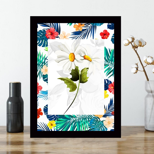 SCZ56698251742 Multicolor Decorative Framed MDF Painting