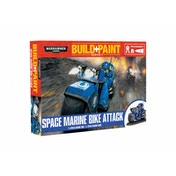 Space Marine Bike Attack Revell Model