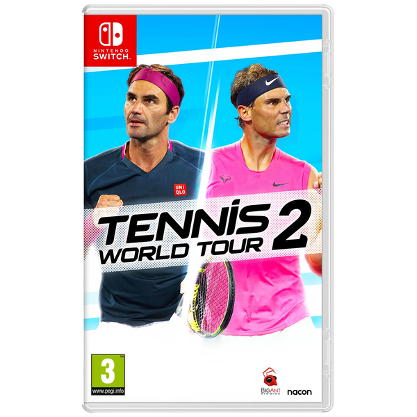 Tennis World Tour 2 Nintendo Switch Game