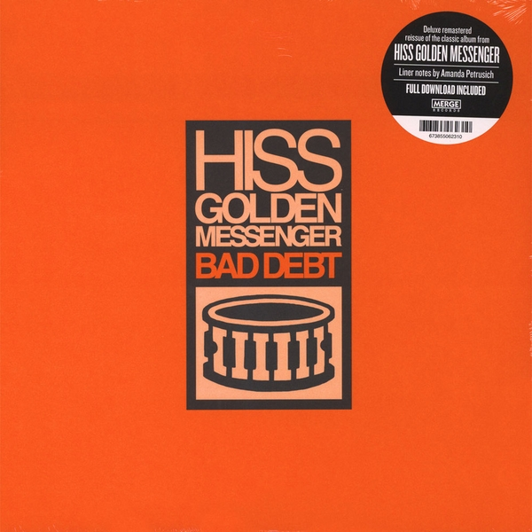 Hiss Golden Messenger ‎– Bad Debt Deluxe Edition Vinyl