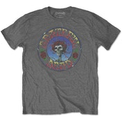 Grateful Dead - Bertha Circle Vintage Wash Men's Medium T-Shirt - Charcoal Grey
