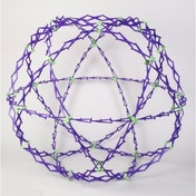 Hoberman Mini Glow In The Dark Sphere