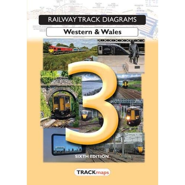Railway Track Diagrams Book 3, Western & Wales  Paperback / softback 2018