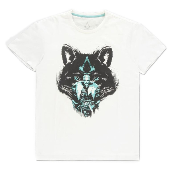 ASSASSIN'S CREED - Wolf Mens X-Large T-Shirt - White