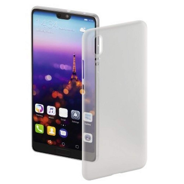 """Hama """"Ultra Slim"""" Cover for Huawei P20, white"""