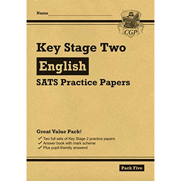 New KS2 English SATS Practice Papers: Pack 5 (for the 2021 tests)  Paperback / softback 2018