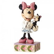 Tender Love and Care Veterinarian Minnie Mouse Disney Traditions Figurine