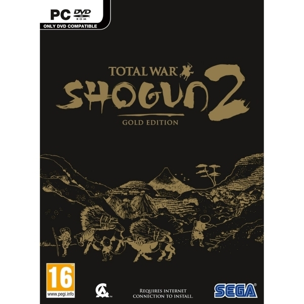 Total War Shogun 2 Gold Edition PC Game (Boxed and Digital Code)