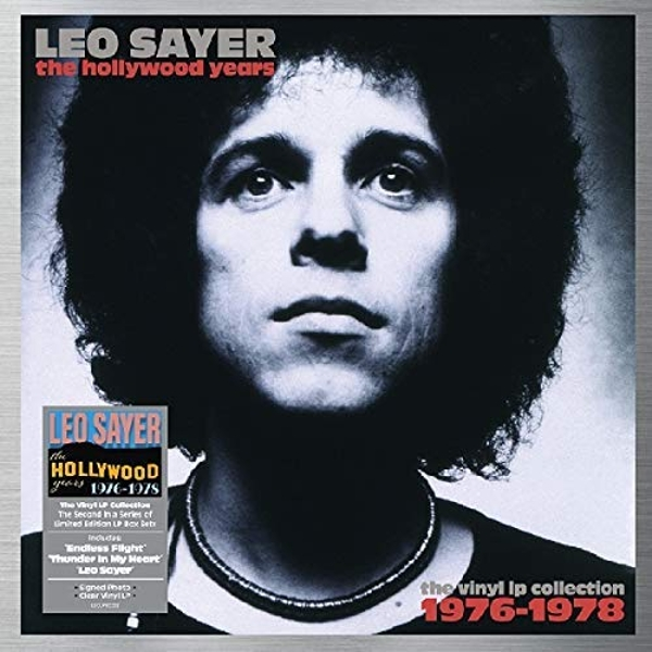 Leo Sayer - The Hollywood Years - 1976-1978 Clear  Signed Edition Vinyl