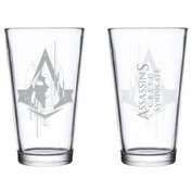 Assassin's Creed Hidden Face Pint Glass