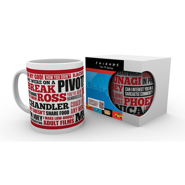 Friends Quotes Mug - Image 1