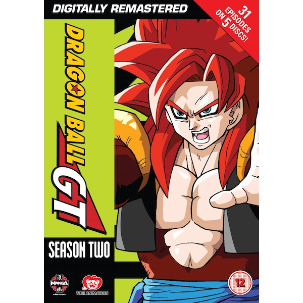 Dragon Ball GT Season 2 (Episodes 35-64 and Movie) DVD