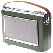 Goodmans Retro Oxford DAB & FM Radio Moss Green UK Plug