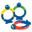 Zoggs Dive Rings Pack of 3