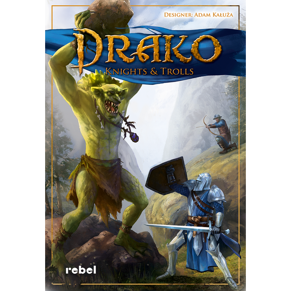 Drako: Knights and Trolls Board Game