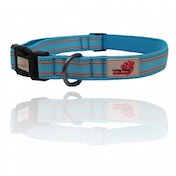 Long Paws Blue Comfort Collection Padded Collar S
