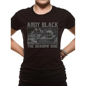 Andy Black - Black Death Large T-Shirt