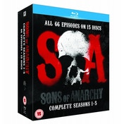 Sons Of Anarchy Seasons 1-5 Blu-ray
