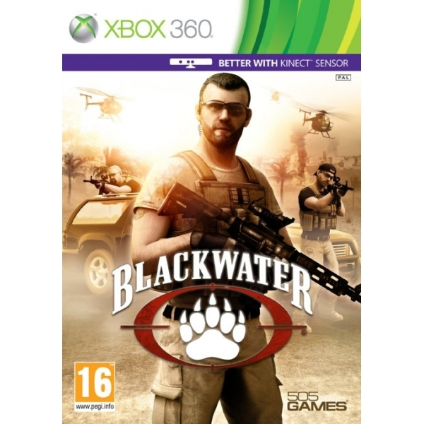 Blackwater (Kinect Compatible) Game Xbox 360