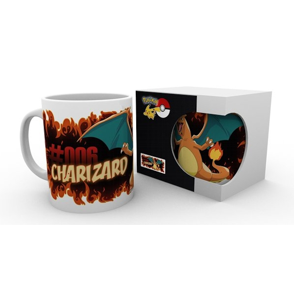 Pokemon Charizard Fire Mug
