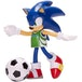 Sonic With Soccer Ball (Sonic The Hedgehog) 4 Inch Action Figure - Image 2