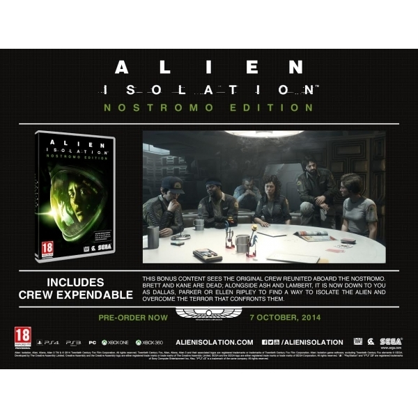 Alien Isolation Nostromo Edition PC Game (Boxed and Digital Code) - Image 2