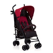 Hauck Speed Plus 4 Wheel Pushchair Red And Black