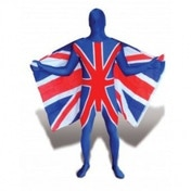 Premium Morphsuit UK Flag Large