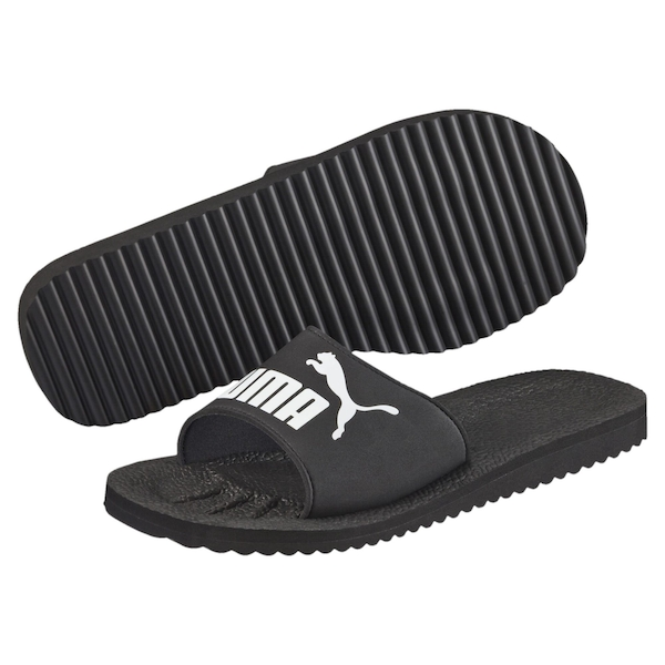 Puma Purecat Unisex Slide Black - UK Size 10