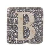 Letter B Coasters By Heaven Sends