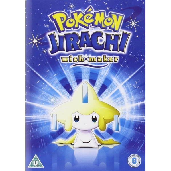 pokemon jirachi wish maker dvd
