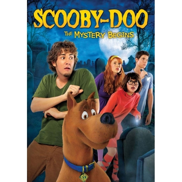 Scooby-Doo: The Mystery Begins DVD