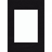 Premium Passepartout Smooth Black 30x40cm