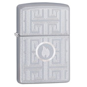 Zippo Labyrinth Chrome Regular Windproof Lighter