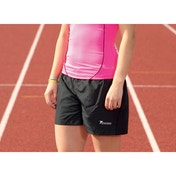 Precision Ladies Running Shorts Black 34-36 inch
