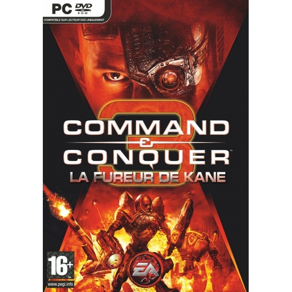 Command & Conquer 3 Kanes Wrath Expansion Pack Game PC