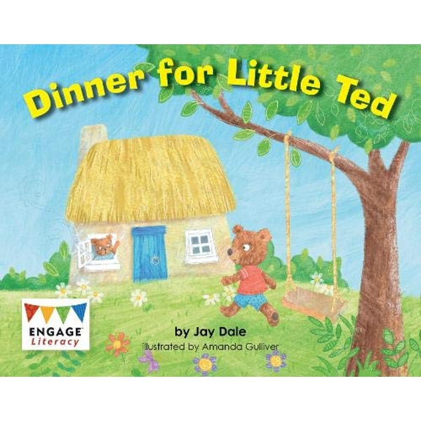 Dinner for Little Ted  Paperback / softback 2018
