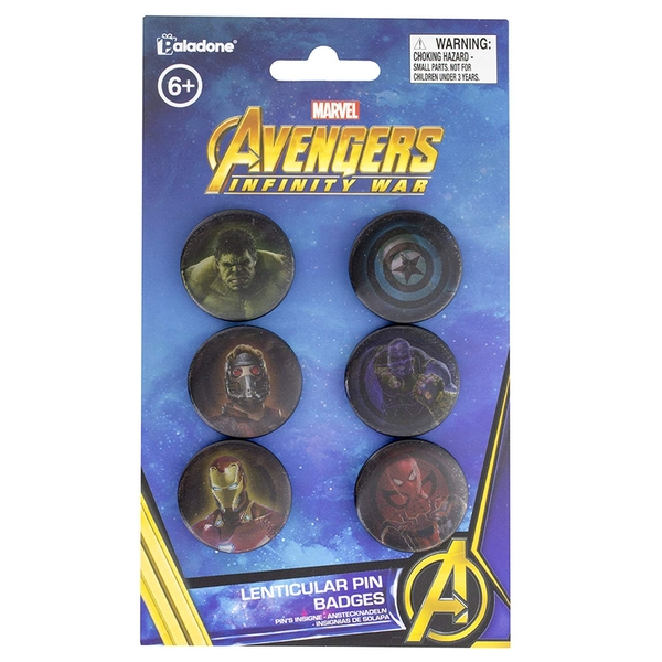 Avengers Infinity War Pin Badges - Image 2