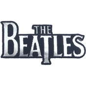 The Beatles - Silver Drop T Logo Standard Patch
