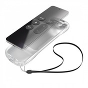 Protective Silicone Cover for Apple TV 4 Siri Remote Transparent