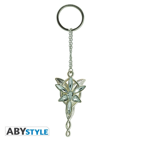 "Lord Of The Rings - 3D ""Evening star"" Keychain"