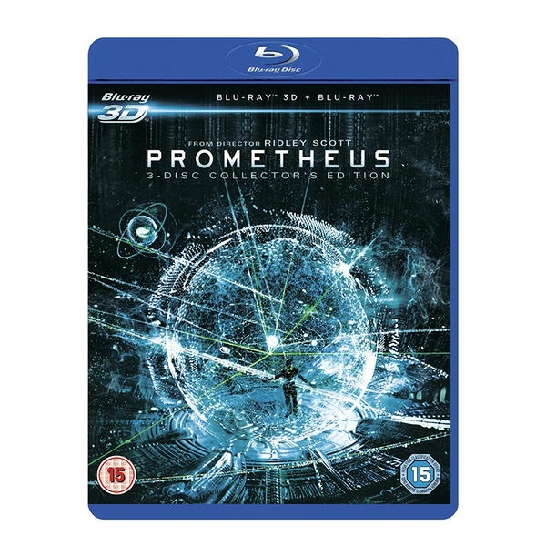 Prometheus 3D Collector's Edition Blu-ray