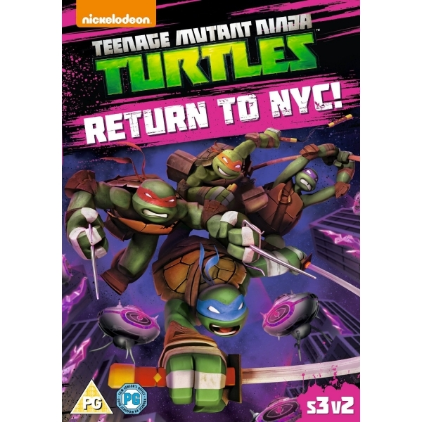 Teenage Mutant Ninja Turtles: Return To NYC DVD
