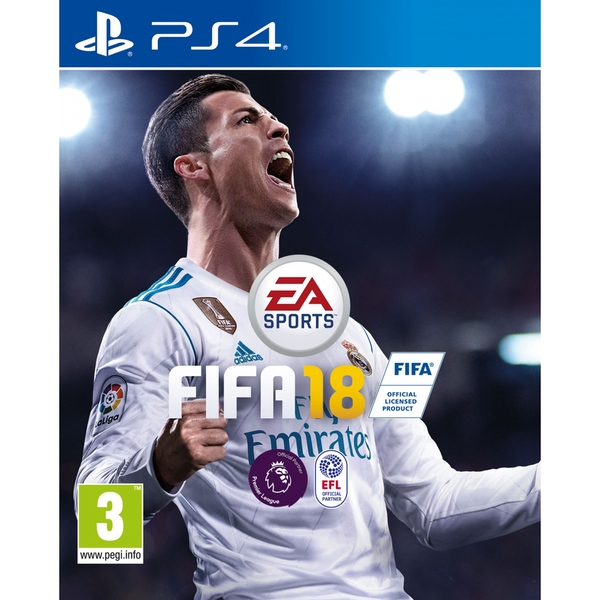 FIFA 18 PS4 Game - Image 1