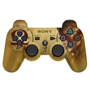 (Damaged Packaging) Official Sony DualShock 3 Controller God of War Limited Edition Gold PS3
