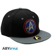 Star Trek - Starfleet Command Snapback Cap - Black & Grey